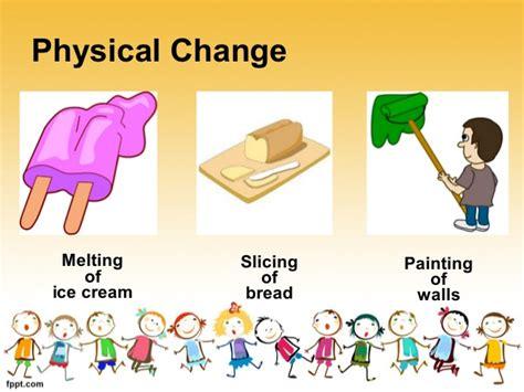 Changes That Matter Undergoes