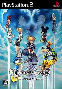 Kingdom Hearts Ii Final Mix Box Shot For Playstation 2