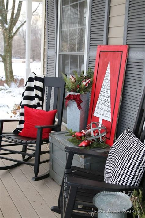 winter porch ideas  pinterest winter porch