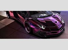 Rose Chrome Widebody Lamborghini Aventador Is Instagram