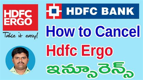 In this relationship, you're the 'first party' and the insurer is the 'second party'. how to cancel hdfc ergo insurance // how to download hdfc ergo insurance documents // in telugu ...