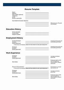 Free printable resume builder whitneyport dailycom for Free online resume cover letter builder