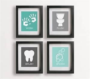 bathroom wall decor kids handprints craft ideas With bathroom wall art