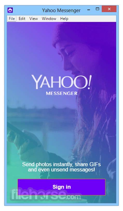 Yahoo! Messenger 08288 Download For Windows Filehorsecom