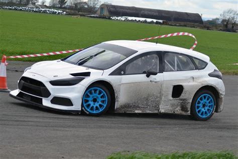 Focus Rs Rx by Block Tests New Ford Focus Rs Rx As Pre Season Testing