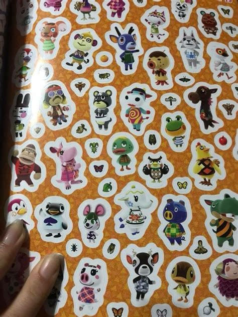 animal crossing official sticker book releases today