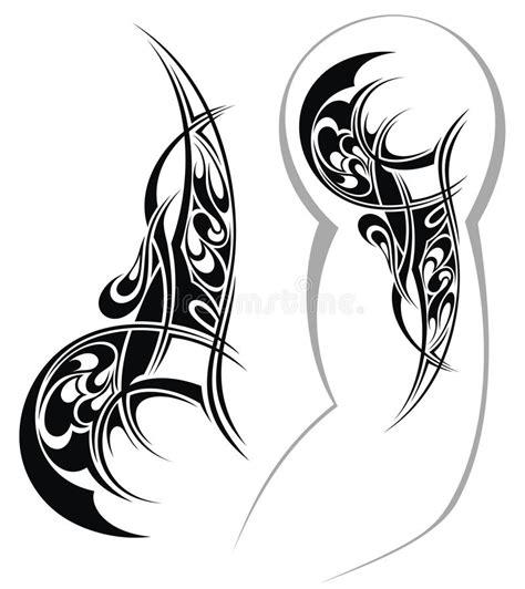 tattoo designed   shoulder stock vector illustration  shoulder fashion