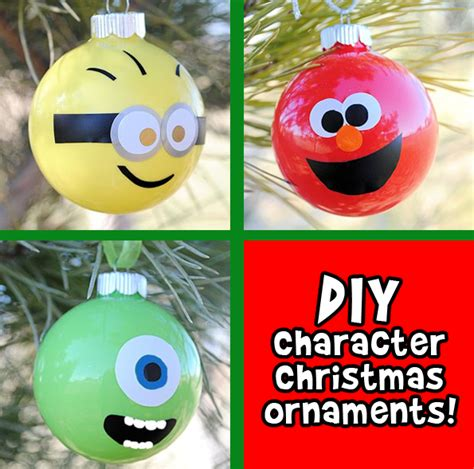diy character christmas ornaments