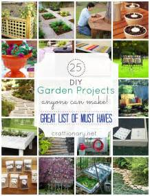 25 DIY Garden Projects