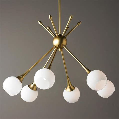 best 25 mid century chandelier ideas on