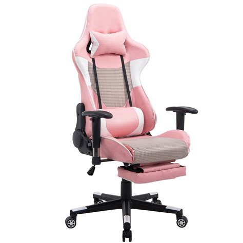 back support for office chair giantex modern reclining gaming chair high back racing 27518