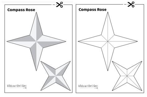 diy compass rose compass rose template printable
