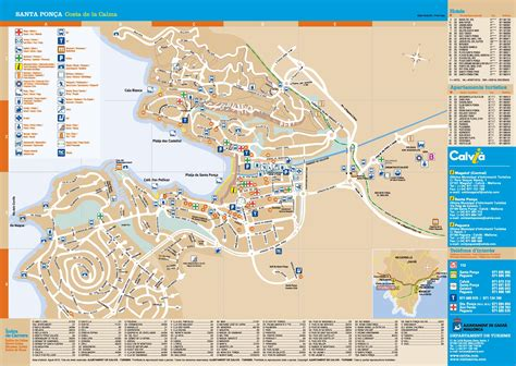 santa ponsa tourist map