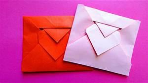 Origami Fleur Coeur D étoile : origami enveloppe c ur youtube ~ Melissatoandfro.com Idées de Décoration