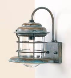 fredeco nautical sconce tropical wall sconces by