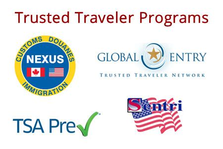 System for award management (sam). Trusted Traveler Programs: What are the Differences Between them?
