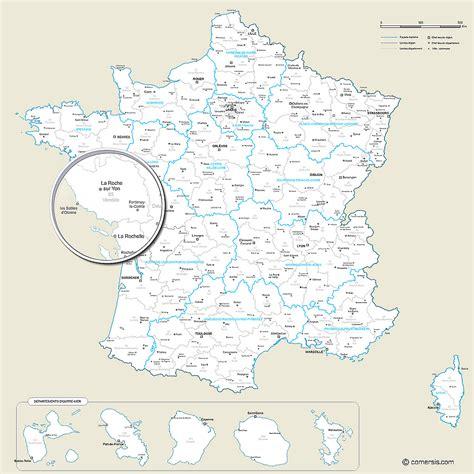 Carte De Region Et Departement Et Chef Lieu by Carte Des Nouvelles R 233 Gions Et Des D 233 Partements De