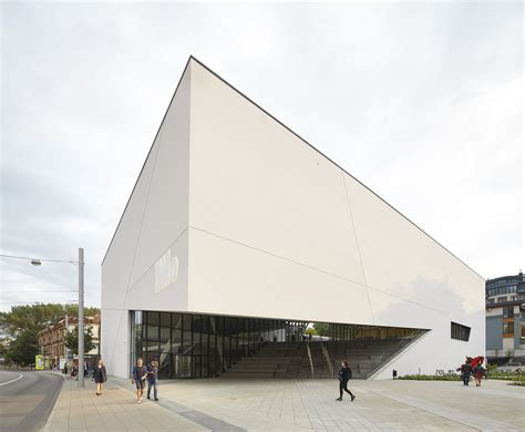 mo museum  modern art studio libeskind archdaily