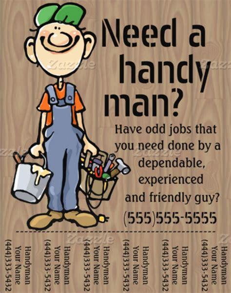 beautiful handyman flyer templates sample templates