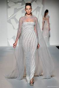 abed mahfouz fall 2012 couture wedding inspirasi page 3 With wedding dress with long cape