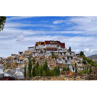 Thiksey Monastery - India Travel ForumIndiaMike.com