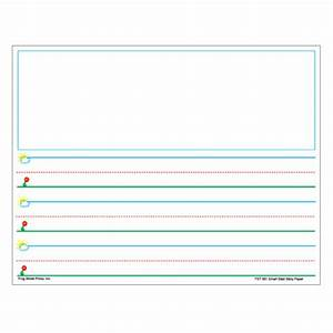 Printable story writing paper for kindergarten writing for Learning to write paper template