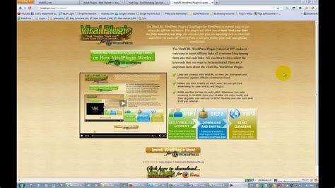 Installing The Viralurl Wordpress Plugin