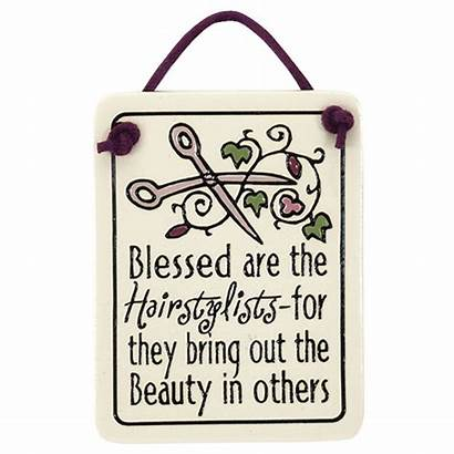 Quotes Hairdresser Hair Plaque Sayings Hairstylists Kappers