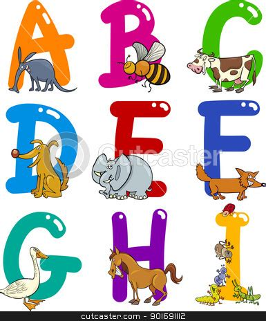 animal alphabet clipart clipart collection bendy zoo