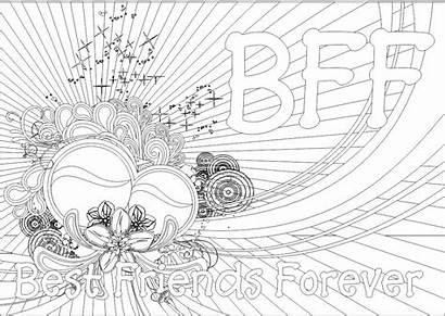 Coloring Pages Bff Printable Teenage Sheets Teens