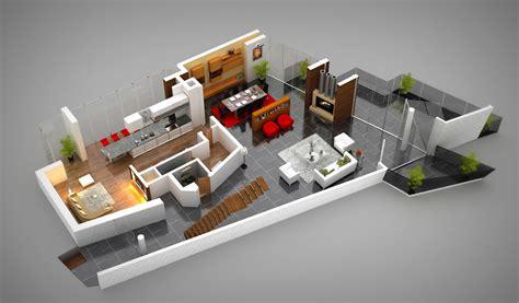 bureau logement tours 3d floor plans cartoblue