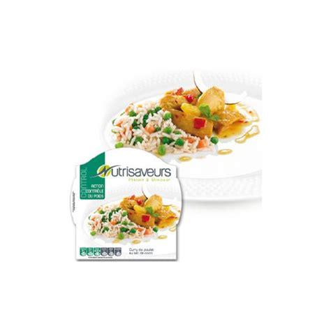 plat cuisiné minceur plat minceur contrôle du poids curry de poulet au