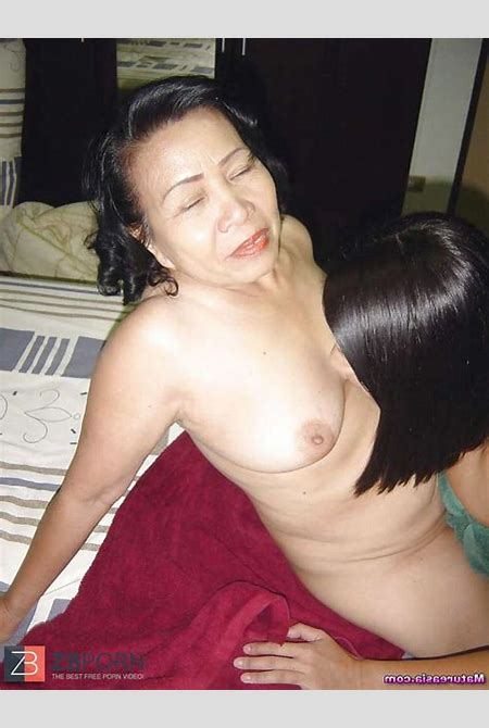 An Asian Mature and (Asian) Granny going at it! / ZB Porn