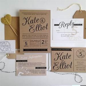 elegant paper wedding invitations card invitation ideas With kraft paper wedding invitations cheap
