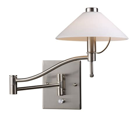 elk lighting 10112 1 swingarm swing arm wall sconce
