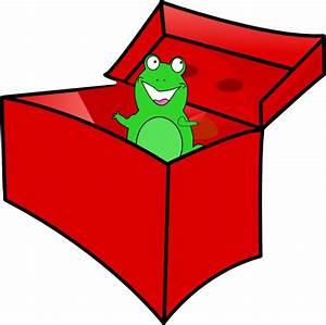 Frog In The Box Clip Art at Clker.com - vector clip art ...