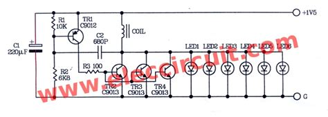 High Power Led Flashlight Circuit With Battery