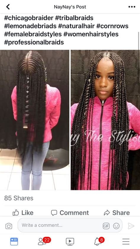 hair braid styles jalissalyons braids feed ins 9296