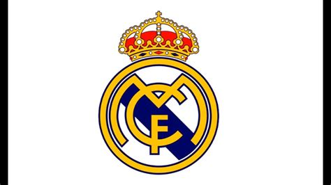 draw  real madrid logo cf youtube