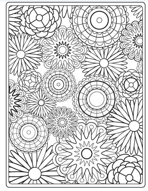 pictures of flowers to color flower coloring pages for adults best coloring pages for
