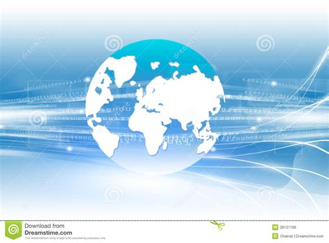 world connect technology royalty  stock  image
