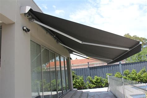 motorized retractable awnings black home ideas