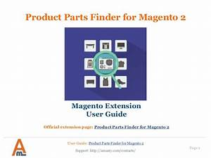 Product Parts Finder For Magento 2