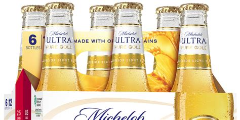 michelob ultra pure gold michelobs  light beer