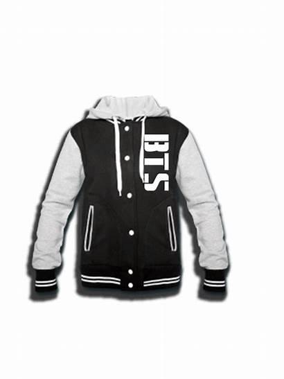 Bts Merch Merchandise Jacket Varsity Kpop Sided
