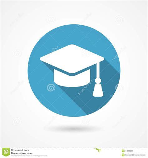 achat chambre etudiant icône de chapeau d 39 obtention du diplôme illustration de