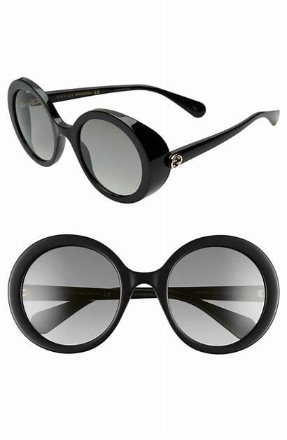Gucci Sunglasses Round Gradient Grey Gray Walmart
