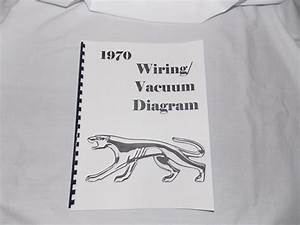 1970 Mercury Cougar Wiring  Vacuum Diagram