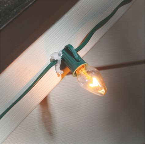 soffit christmas light clips nail on for lights suction cups direct