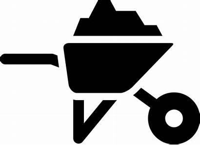 Construction Material Clipart Svg Icon Materials Barrow